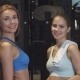 Beautiful Young Athletic Women Smiling To the Camera Posing at the Gym - VideoHive Item for Sale