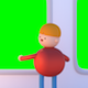 Kids On The Train (Green Screen) - VideoHive Item for Sale