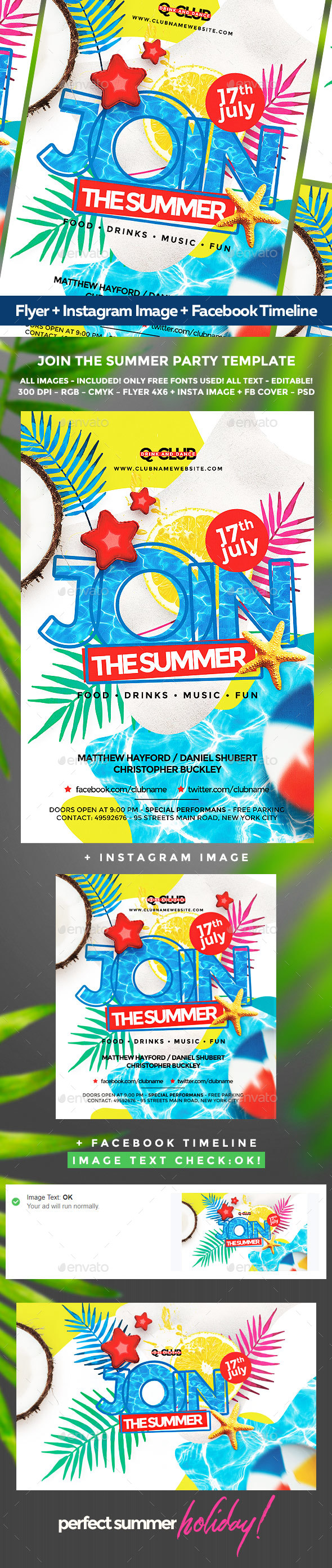 Summer Flyer - Holidays Events