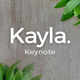 Kayla Keynote Template - GraphicRiver Item for Sale