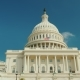The Majestic Famous Capitol Building in Washington, DC. Against the Background of the Blue Sky - VideoHive Item for Sale