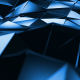Blue Polygonal Geometric Surface Loop - VideoHive Item for Sale
