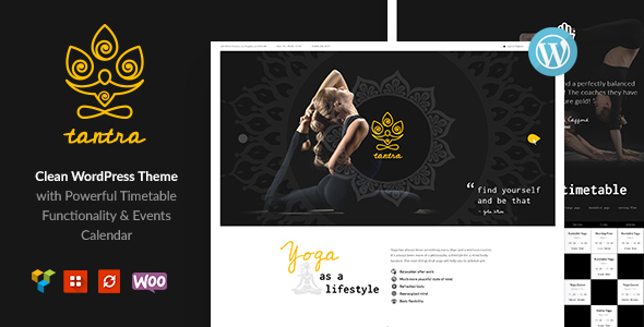Tantra | Yoga Studio and Fitness Club WordPress Theme - Health & Beauty Retail