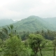 Green Mountains Rainy Clouds Passing  in Bali Indonesia - VideoHive Item for Sale