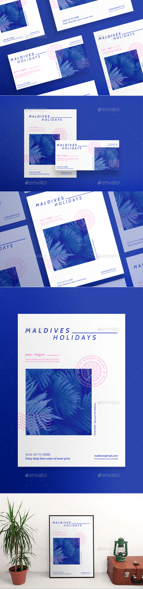 Maldives Holiday Flyers - Corporate Flyers