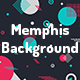 Memphis Geometric Shapes Backgrounds - GraphicRiver Item for Sale