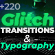 Glitch Titles and Transitions - VideoHive Item for Sale