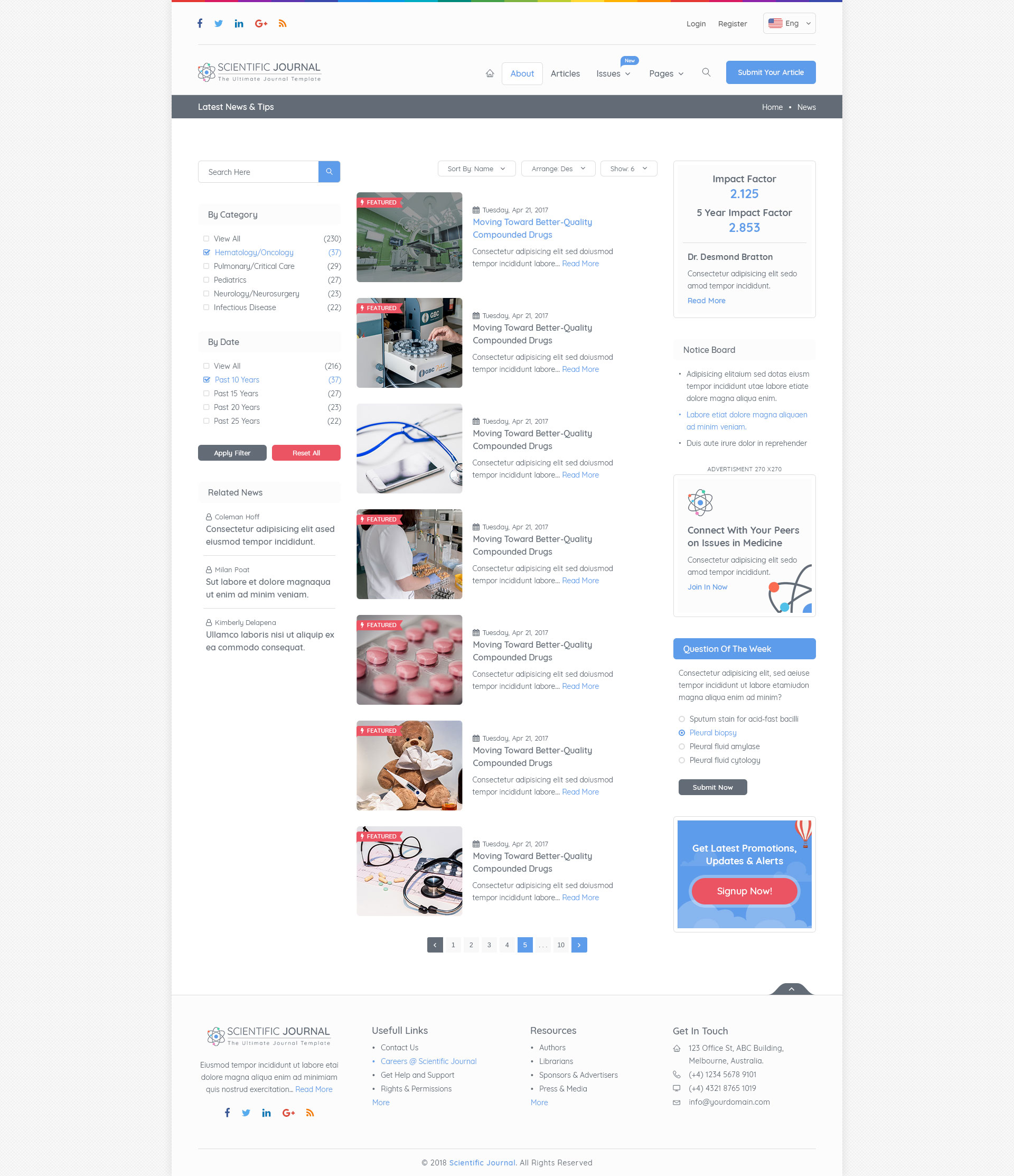 research and science scientific journal template by design acumen