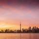 City of Toronto Sunset  Day To Night - VideoHive Item for Sale