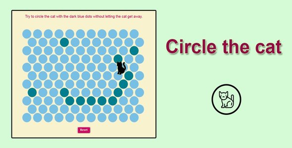 Circle the Cat HTML5 game - CodeCanyon Item for Sale