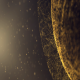 Gold Sphere Glittering Particles - VideoHive Item for Sale