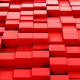Red Cubes Background Loopable - VideoHive Item for Sale