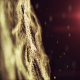 Gold Bokeh Particles Wave - VideoHive Item for Sale