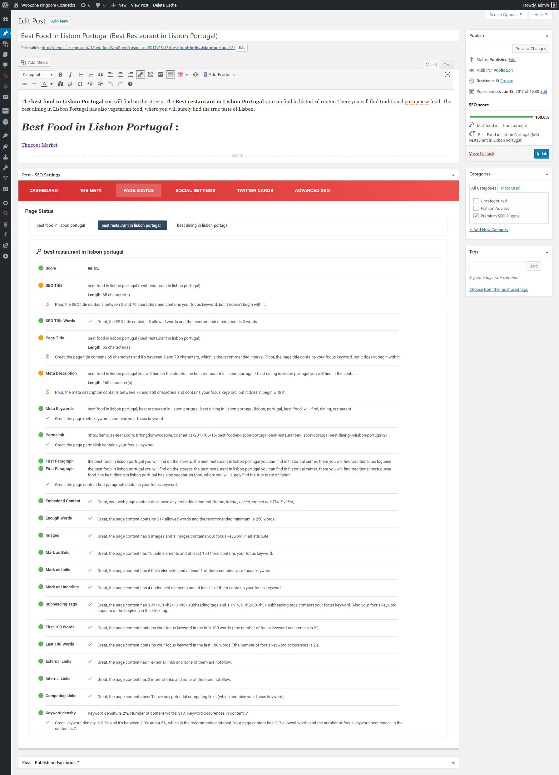 premium seo pack wordpress plugin by aa team codecanyon