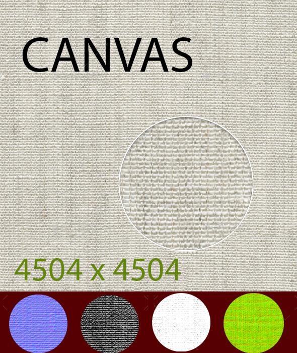 canvas texture - 3DOcean Item for Sale