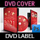 Valentine Day Party DVD Cover and Label Template - GraphicRiver Item for Sale