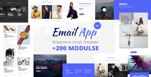 Email App - Responsive Email Template Minimal