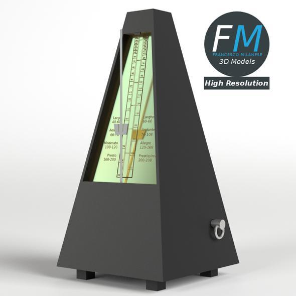 Metronome HR - 3DOcean Item for Sale