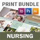 Nursing Home Print Bundle 2 - GraphicRiver Item for Sale