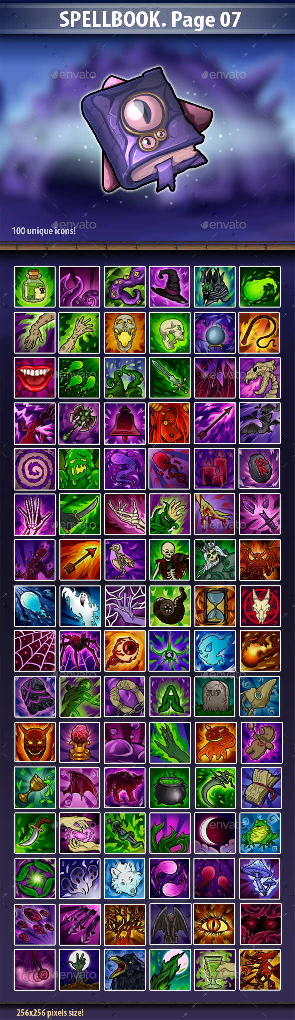SpellBook Page 07 - Miscellaneous Game Assets