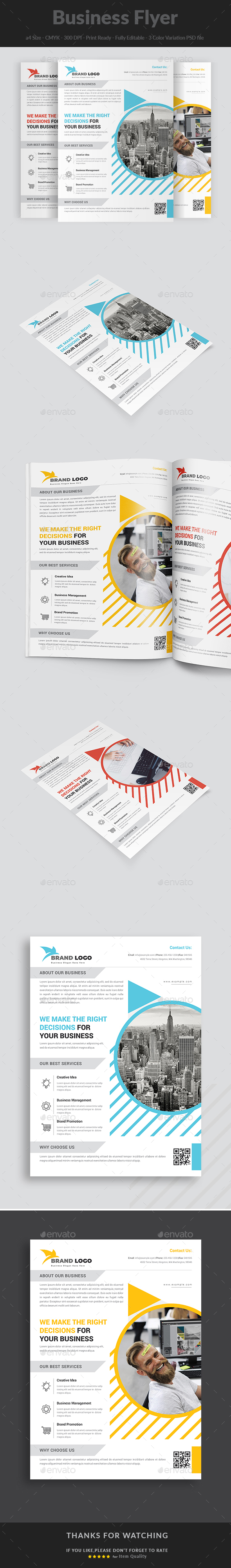 Business Flyer Templates - Corporate Flyers