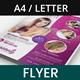Hair Spa and Beauty Salon Flyer