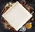 Coffee ingredient frame - PhotoDune Item for Sale