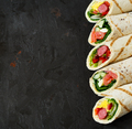 Healthy wrap sandwiches - PhotoDune Item for Sale