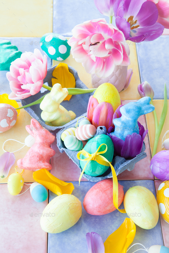 Happy Easter - Stock Photo - Images