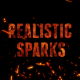 Realistic Sparks - VideoHive Item for Sale