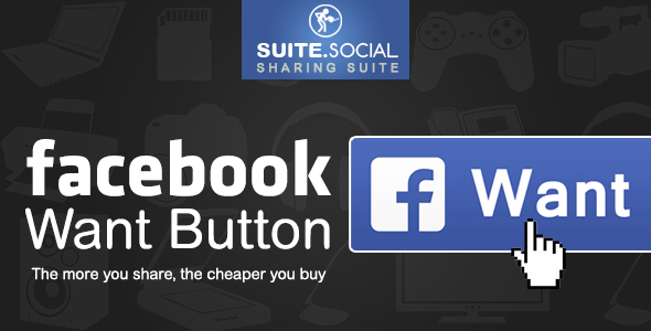 Social Sharer - Facebook Want Button - CodeCanyon Item for Sale