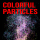 Rising Colorful Particles - VideoHive Item for Sale