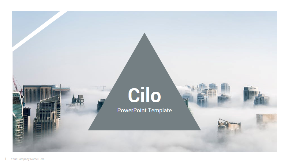 Cilo - Awesome PowerPoint Presentation Template