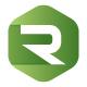 Cubical R Letter Logo