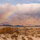 Storm Clouds Rainbow Owens Valley Sierra Nevada Mountain Range  - PhotoDune Item for Sale