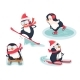Active Penguins in Winter - GraphicRiver Item for Sale