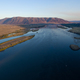 Aeiral View Columbia River Wanapum Lake Village Beverly Washington - PhotoDune Item for Sale