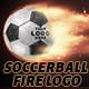 Soccer Ball Fire Logo - VideoHive Item for Sale