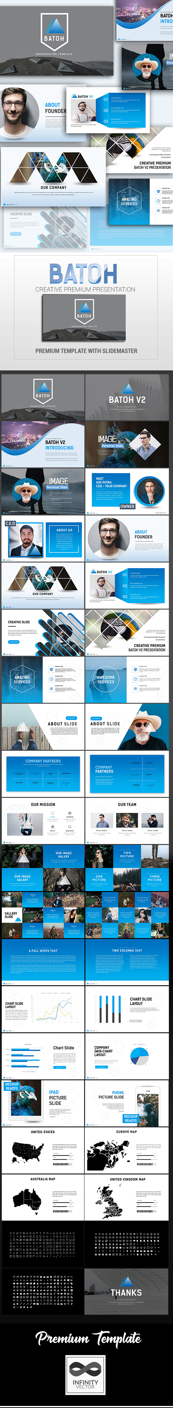 Batoh V2 Creative Presentation Google Slide - Google Slides Presentation Templates