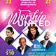 Worship United Church Flyer - GraphicRiver Item for Sale