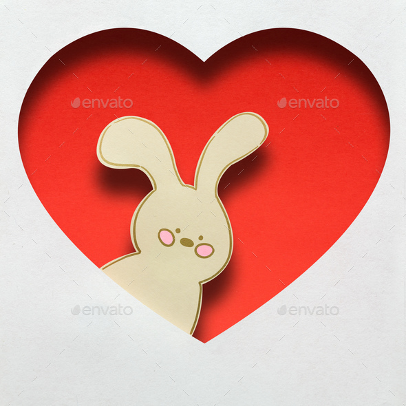 Some bunny loves you. - Stock Photo - Images
