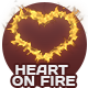 Heart On Fire - 3 Pack