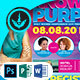 Knowing Your Purpose Church Conference Flyer Template - GraphicRiver Item for Sale