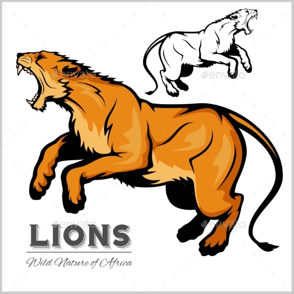 Lioness - Animals Characters