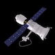 Satelite with Astronaut - 3DOcean Item for Sale