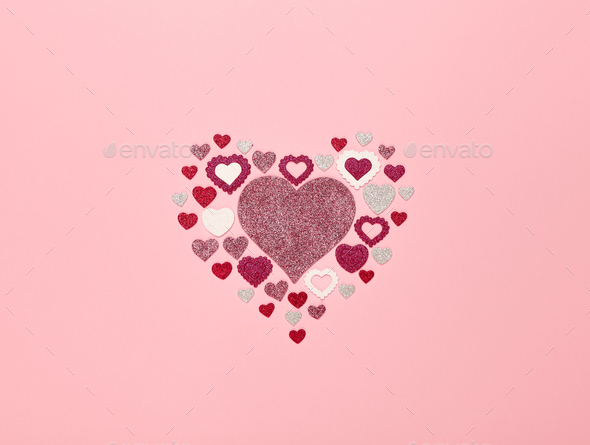 Valentine's Day Background - Stock Photo - Images