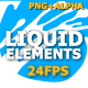 Flash FX Liquid Motion Elements - VideoHive Item for Sale