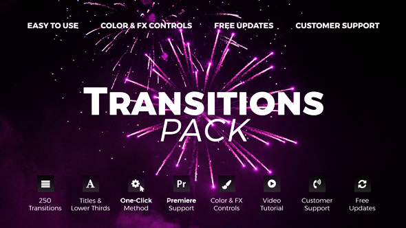 Videohive Transitions 4.1 20139771- Free download