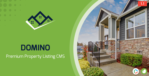 Domino Real Estate Property Listing Cms - CodeCanyon Item for Sale