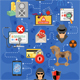 Internet Security Infographics - GraphicRiver Item for Sale